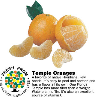 Temple Oranges From The Orange Shop In Florida