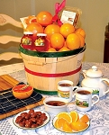 2 Peck Tea Time Basket