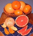 Honey Tangerines and Ruby Red Grapefruit